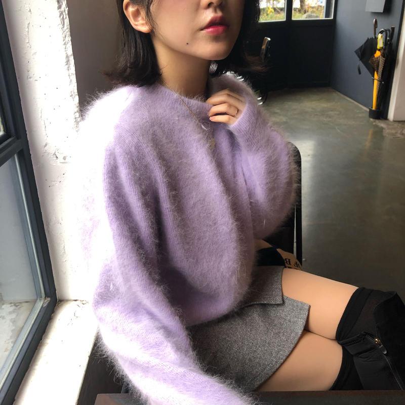 【韓国で大人気】 Angora KNIT