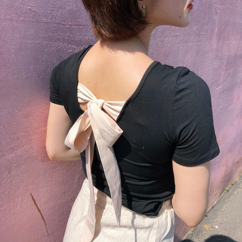 Back ribbon T