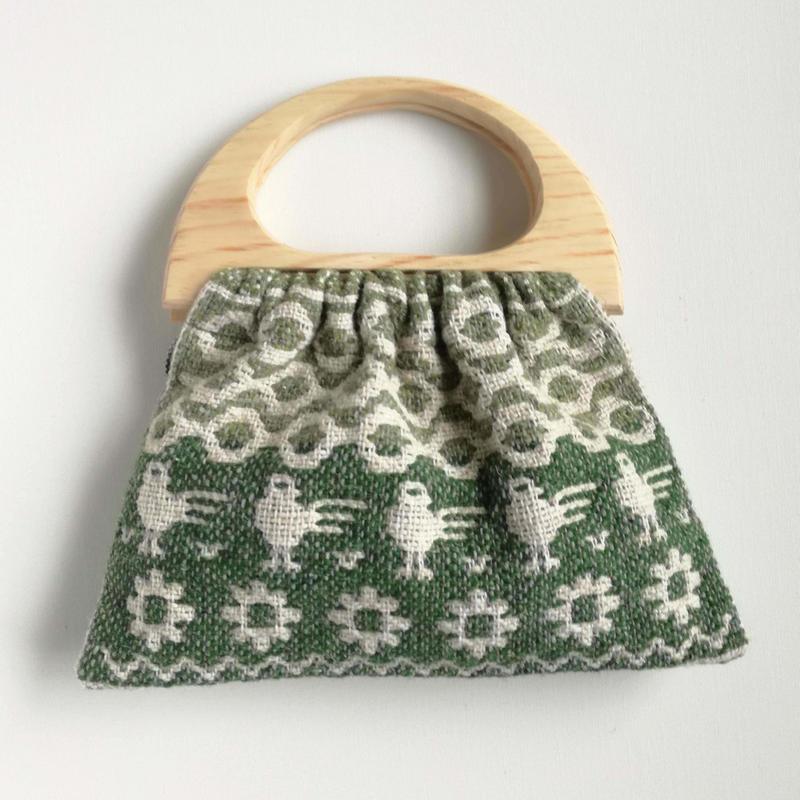 ヤノフ村の織物 グラニーバッグ #2426