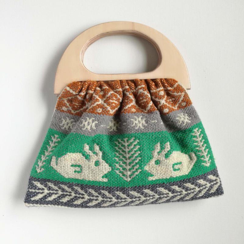 ヤノフ村の織物 グラニーバッグ #2442