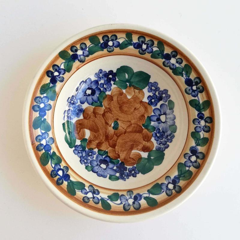 ヴウォツワヴェク陶器 小皿(直径15cm)#3519
