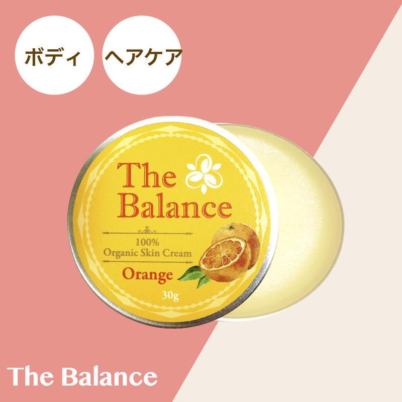 【完全無添加/有機認証原料100%】ザバランス フェイス&ボディクリーム マンダリンオレンジ 30g