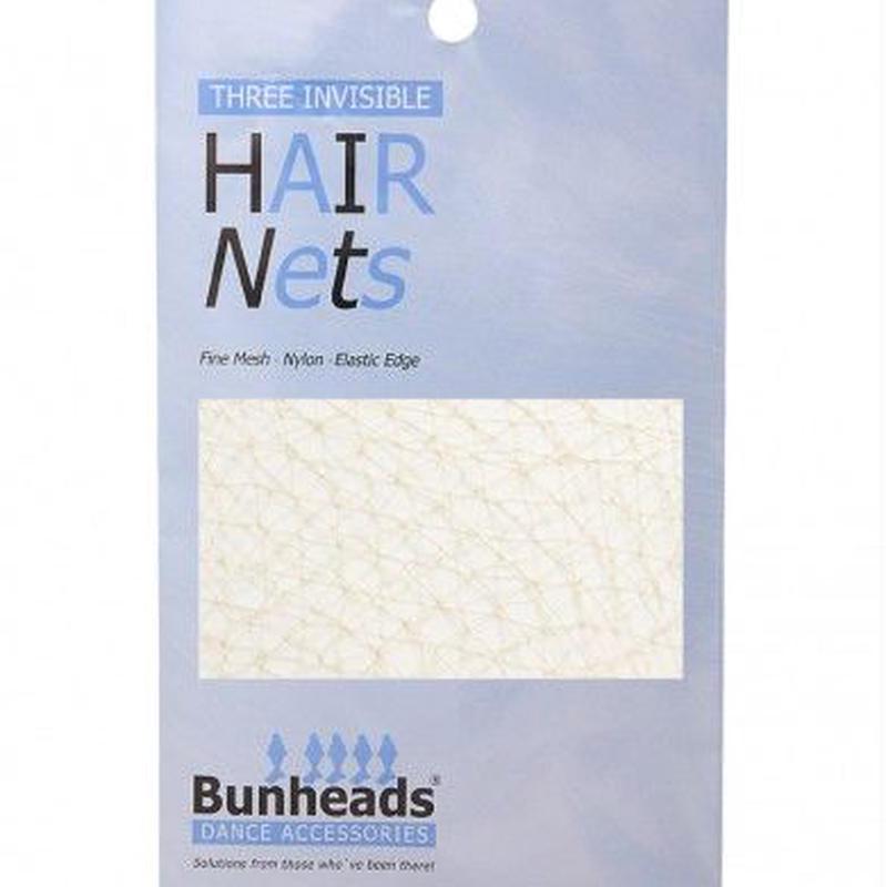 Bunheads ステージ用ヘアーネット(3枚入り)