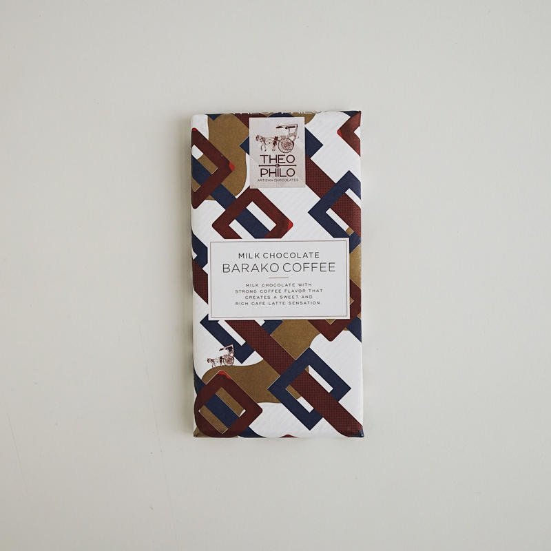 MILK CHOCOLATE WITH BARAKO COFFEE