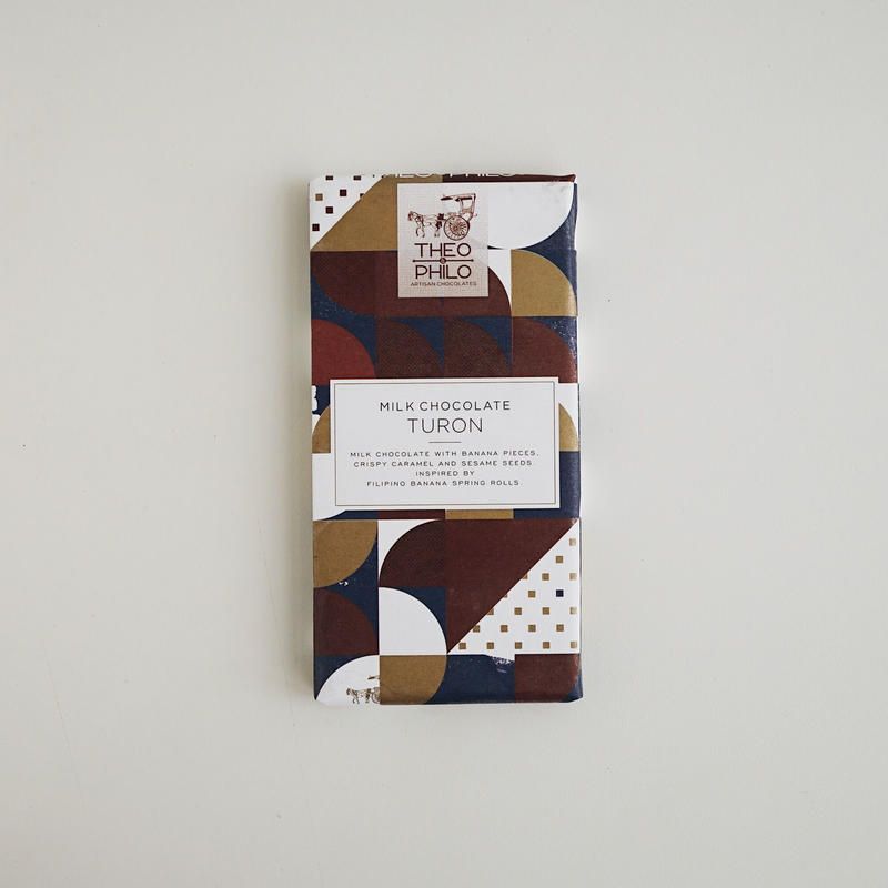 MILK CHOCOLATE WITH TURON