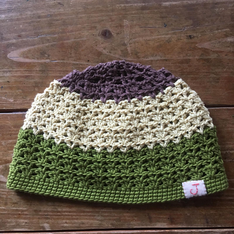 手編み帽子