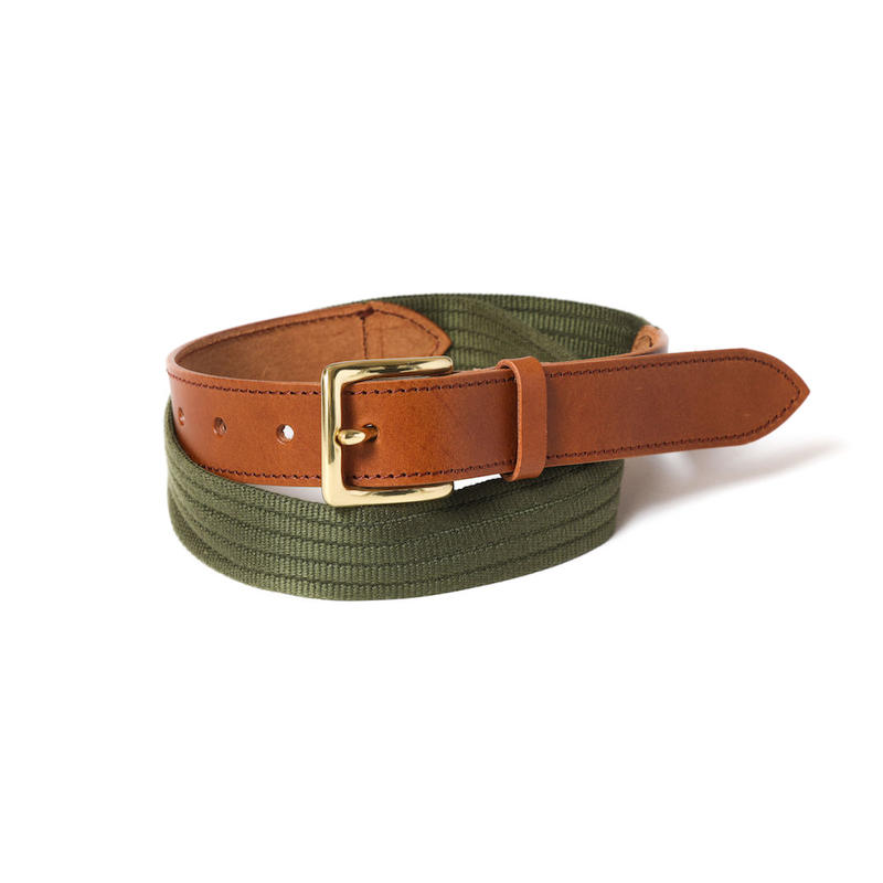 PINGGANG BELT (BROWN / OLIVE)