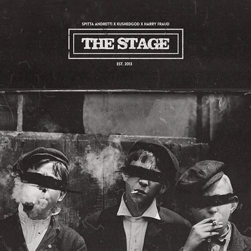 CURREN$Y X SMOKE DZA X HARRY FRAUD / THE STAGE (PURPLE VINYL) [LP]