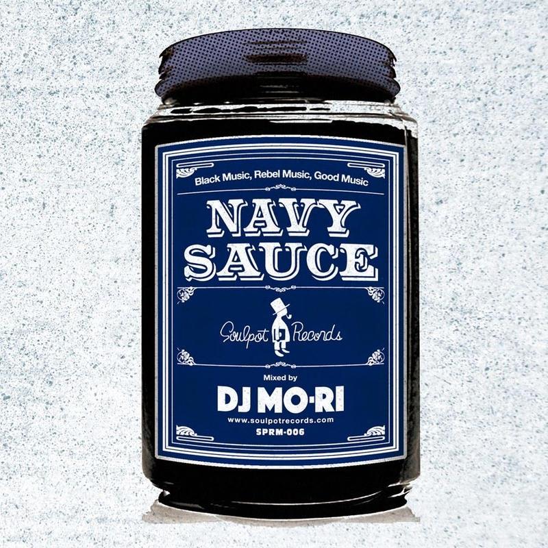 DJ MO-RI / NAVY SAUCE [MIX CD]