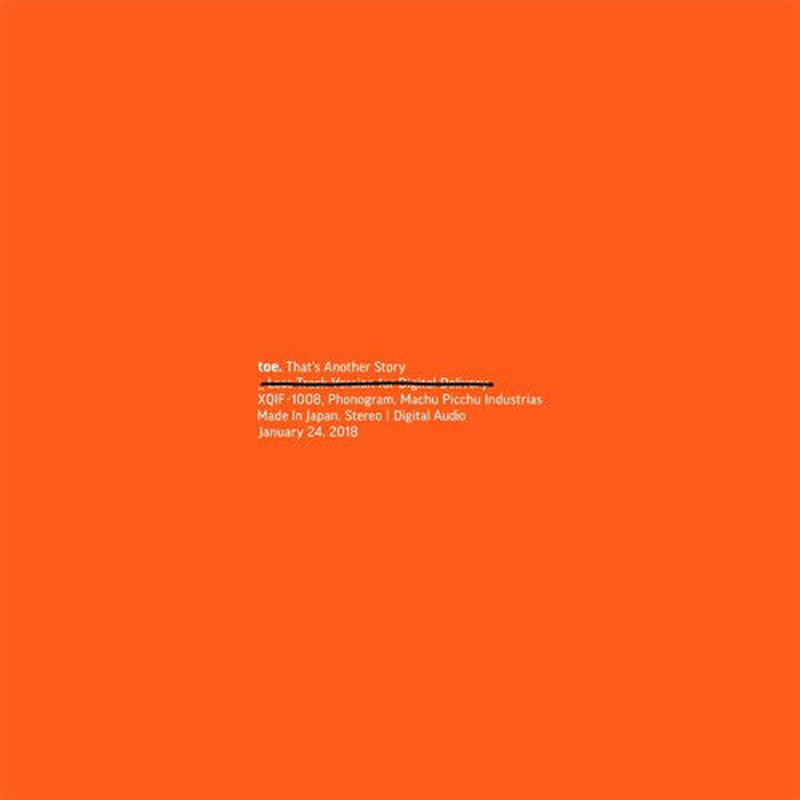 toe / That's Another Story [CD]
