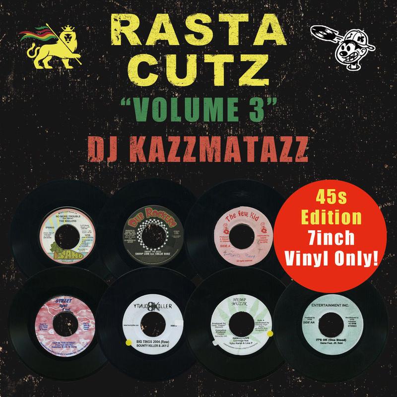 DJ KAZZMATAZZ / RASTA CUTZ VOL.3 [MIX CD]