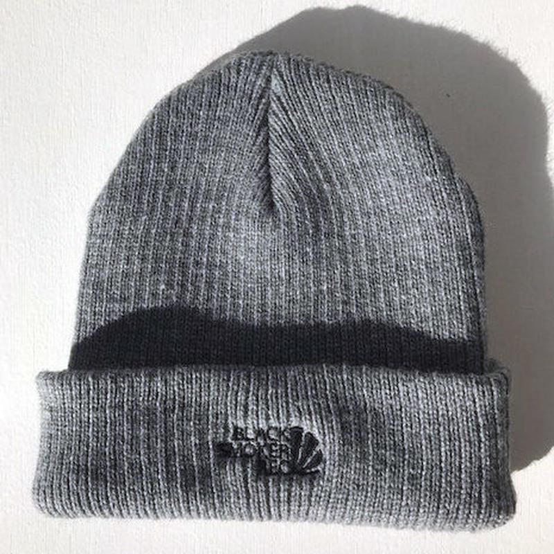 BS knit cap 3(gray)