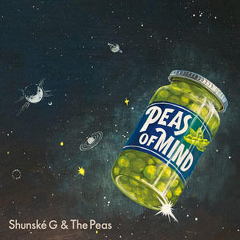SHUNSKE G & THE PEAS / PEAS OF MIND [LP+7inch]