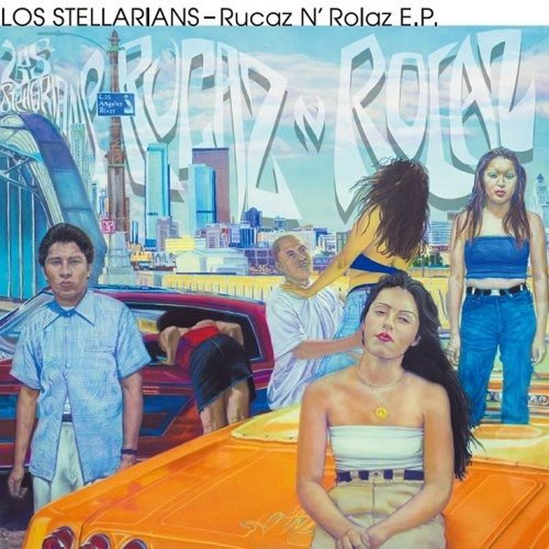RSD2019 - LOS STELLARIANS / Rucaz N Rolaz E.P [7inch]