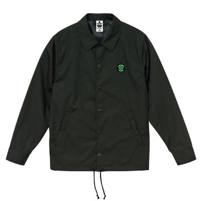 BLACKSMOKERS coach jacket (BLACK)