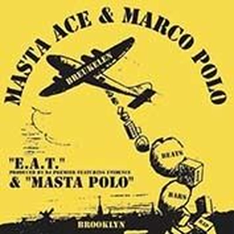 RSD2019 - MASTA ACE & MARCO POLO / E.A.T. b/w MASTA POLO [7inch]