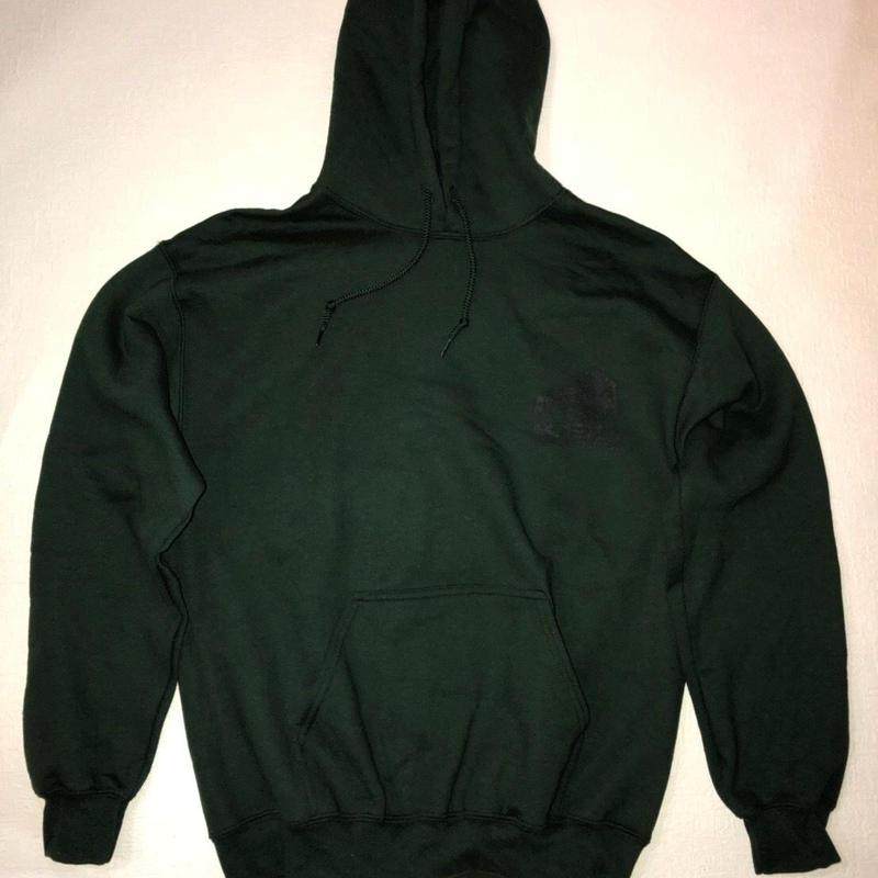 kinokuni hoodie(dark green)