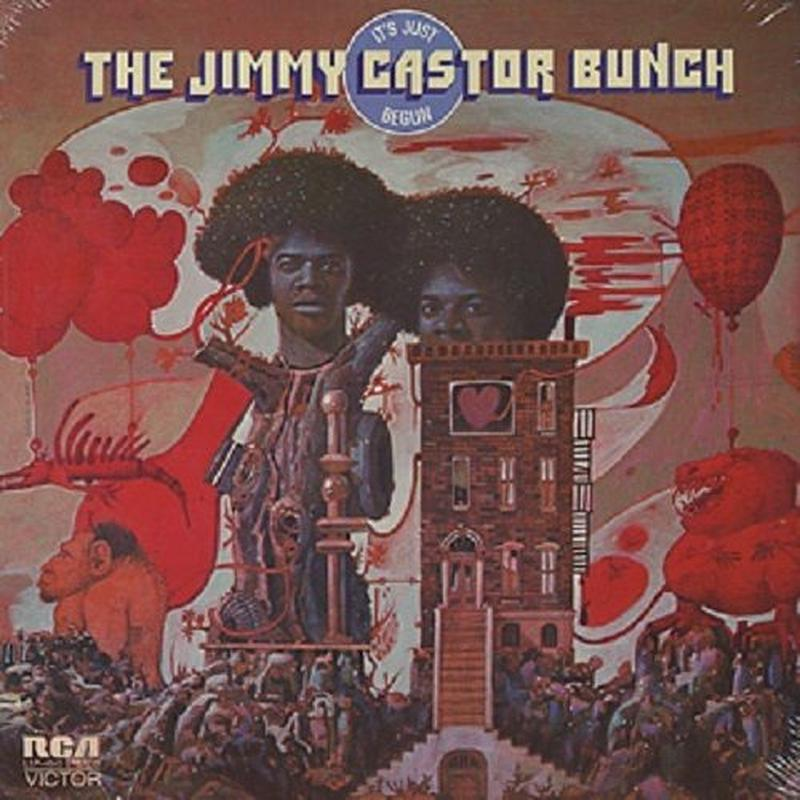 JIMMY CASTOR BUNCH / IT'S JUST BEGUN [LP]