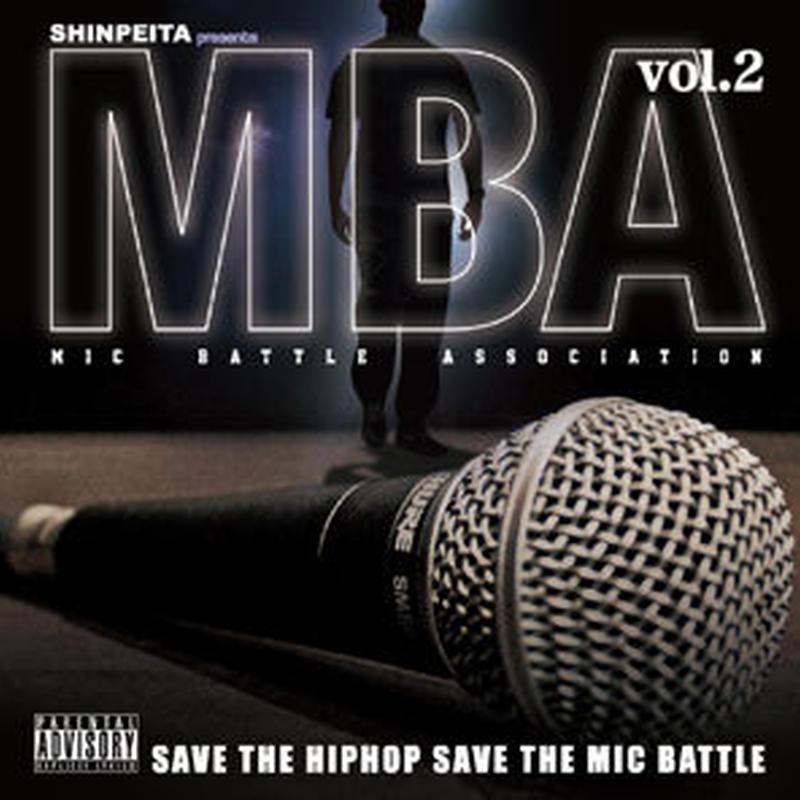 V.A / SHINPEITA PRESENTS M.B.A -MIC BATTLE ASSOCIATION- VOL.2  [CD]