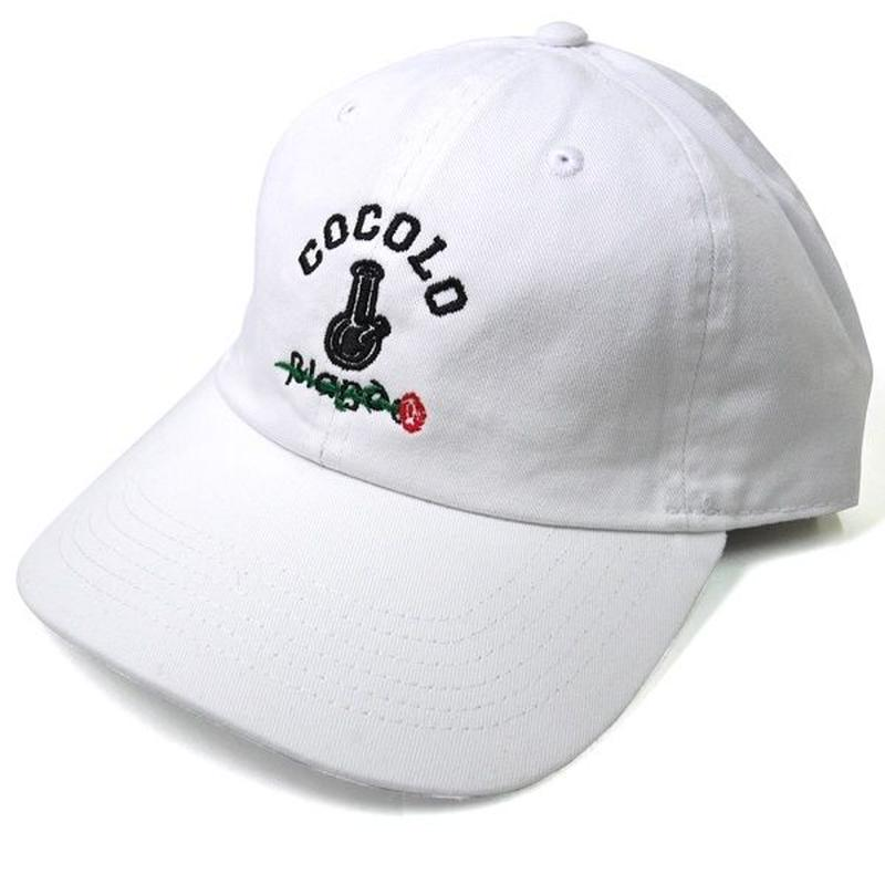 ROSE BONG 6PANELS CAP (WHITE)