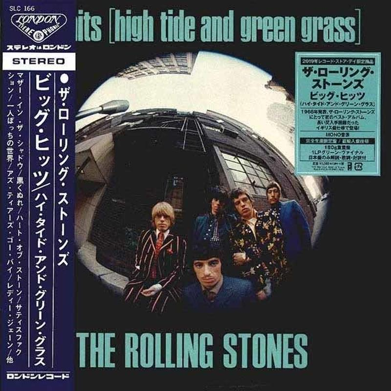 ROLLING STONES / ビッグ・ヒッツ(ハイ・タイド・アンド・グリーン・グラス) [COLORED 180G LP]