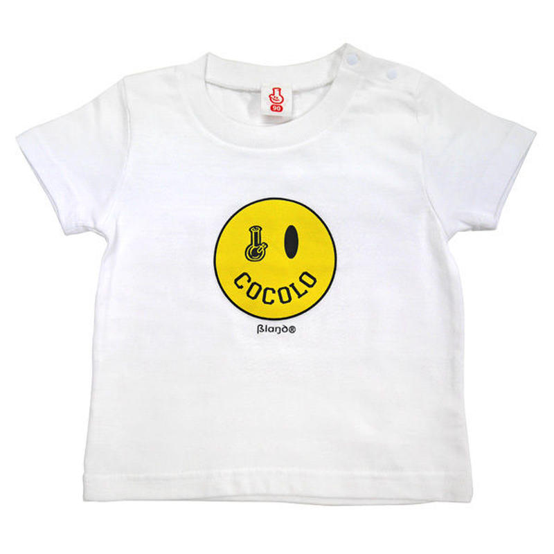 SMILEY BONG TEE (WHITE) KIDSサイズ