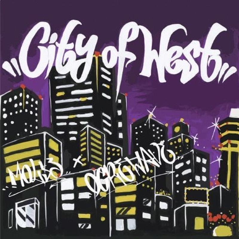 MOL53 x OGRE WAVE / CITY OF WEST [CD]