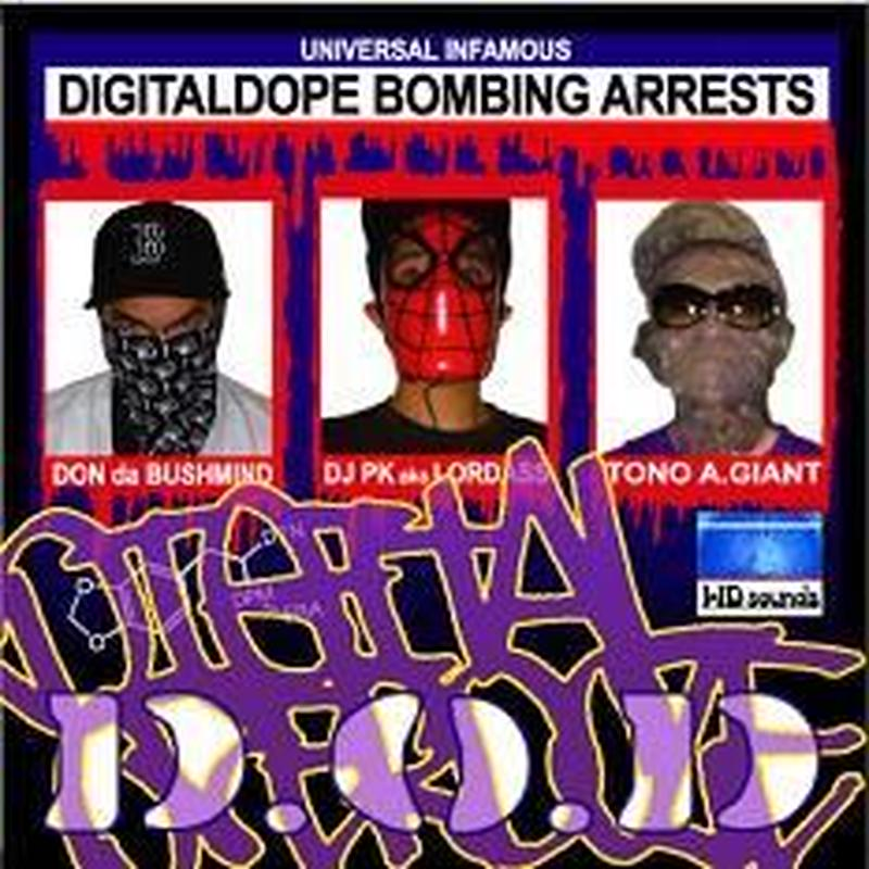 D.O.D / Digital Dope Bombing Arrest [CD]