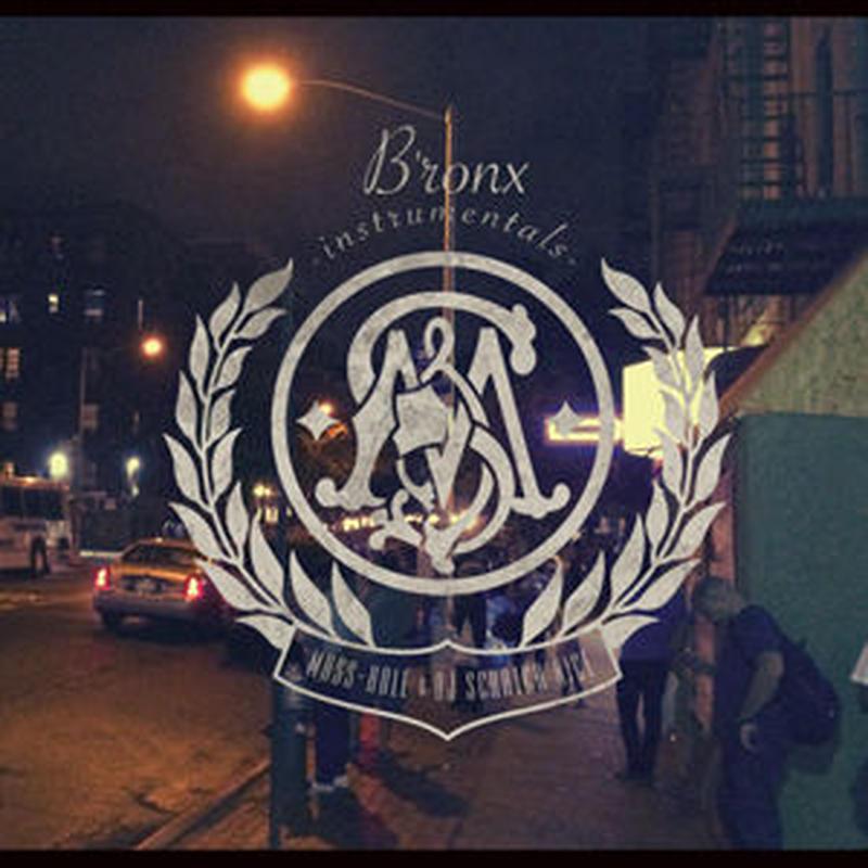 MASS-HOLE & DJ SCRATCH NICE / B'ronx instrumentals [LP]