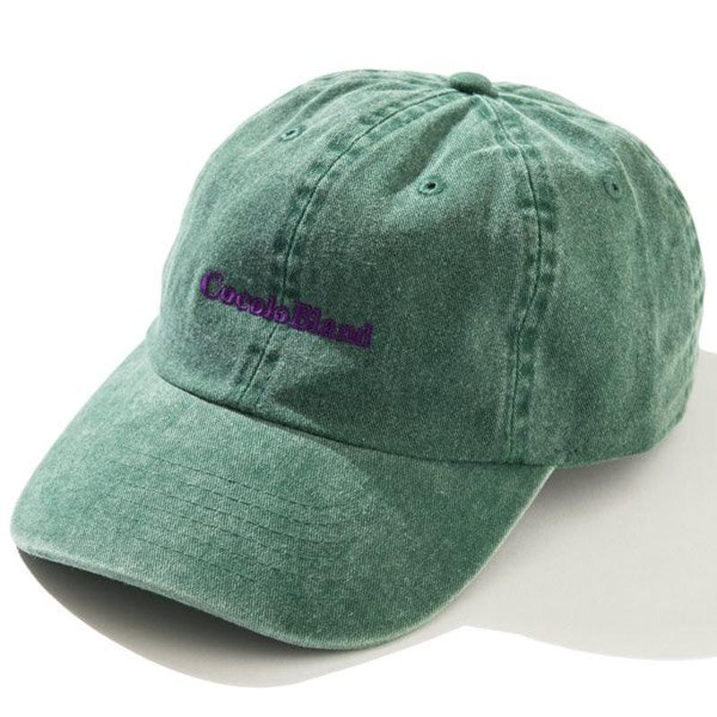 made in Cocolo Bland Pigment Dyed CAP (GREEN)