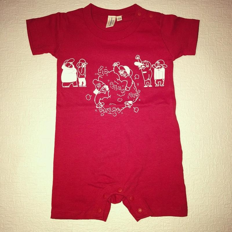 Banguard Baby rompers(red)