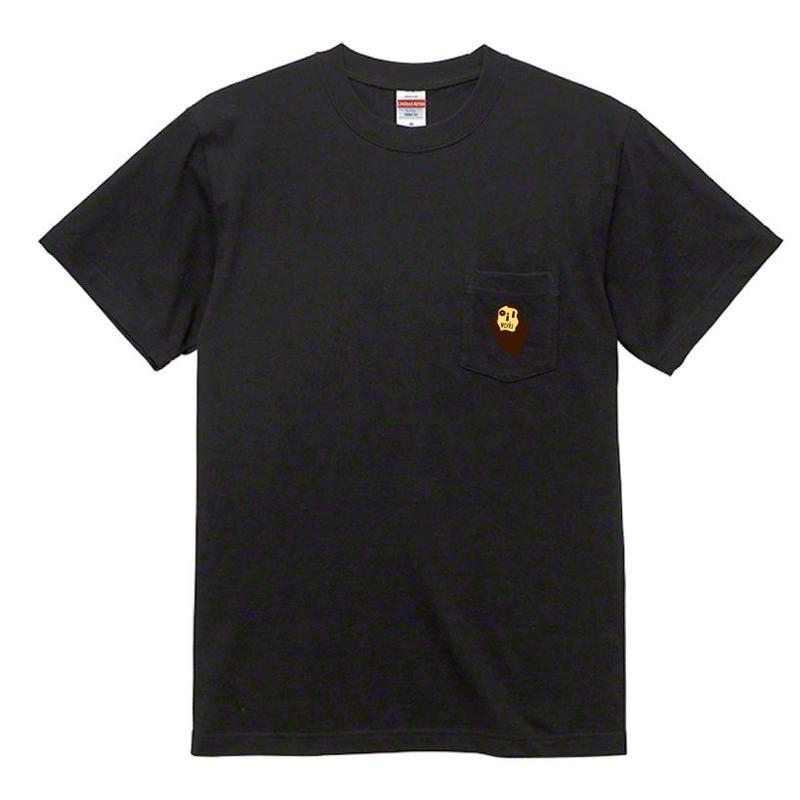 6/1締切~6月下旬入荷 - OILMARK POCKET T-SHIRTS (BLACK)