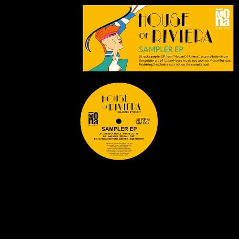 V.A. / HOUSE OF RIVIERA SAMPLER EP [12inch]