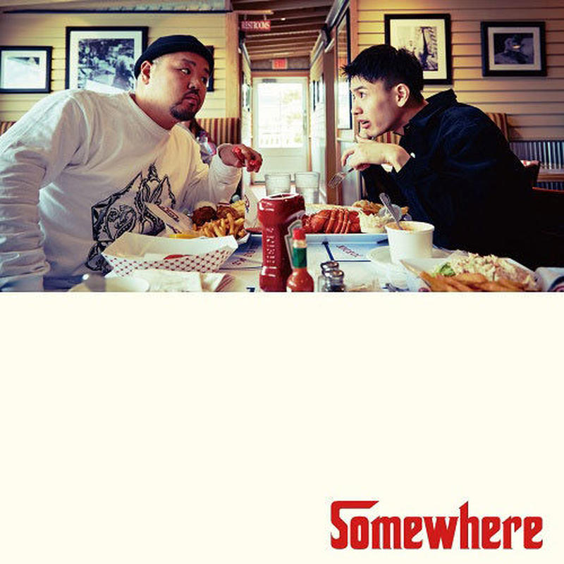 C.O.S.A. × KID FRESINO / Somewhere [2LP]