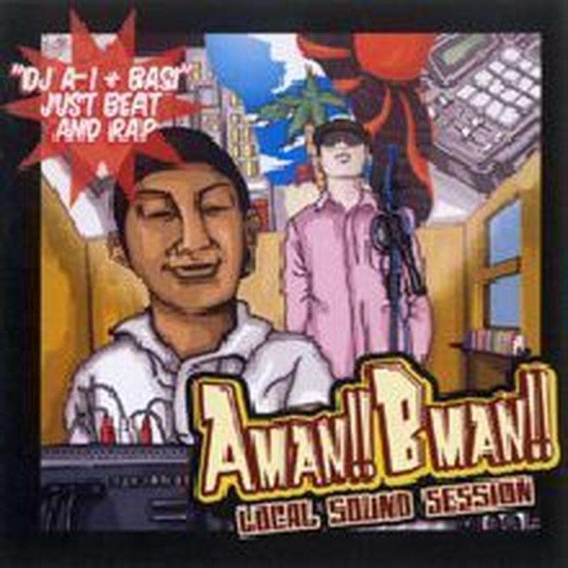 DJ A-1 + BASI (韻シスト) / AMANBMAN [CD]
