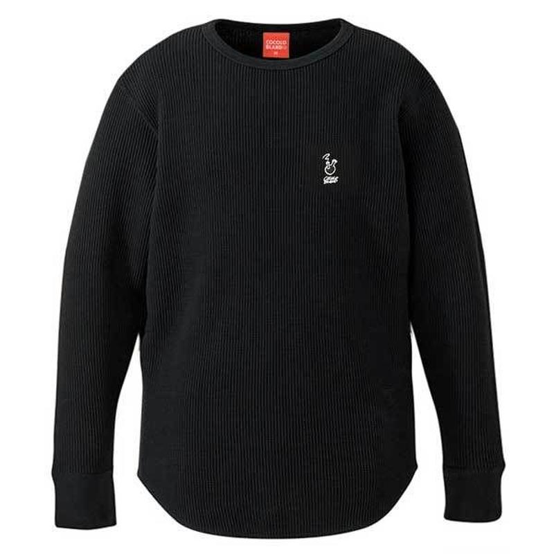 ROUGH BONG THERMAL L/S TEE (BLACK)