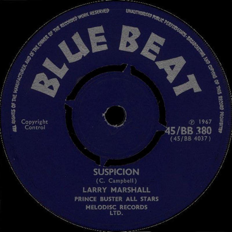 Larry Marchall - Suspicion/Broken Heart [7inch]