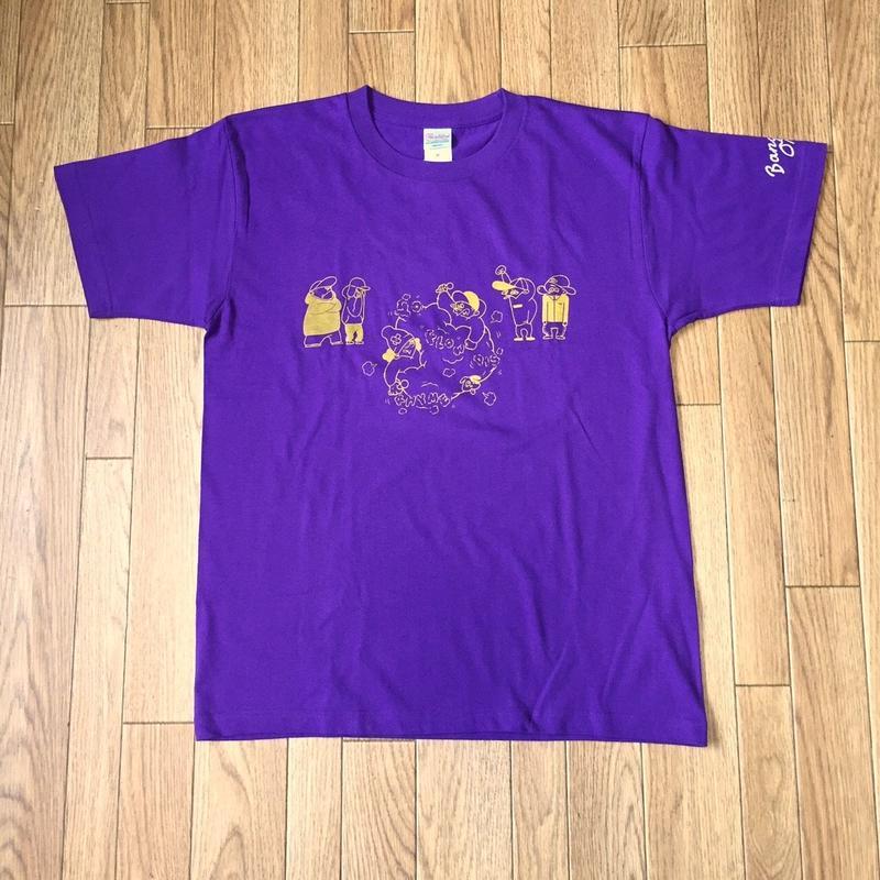 MC BATTLE tee(purple)