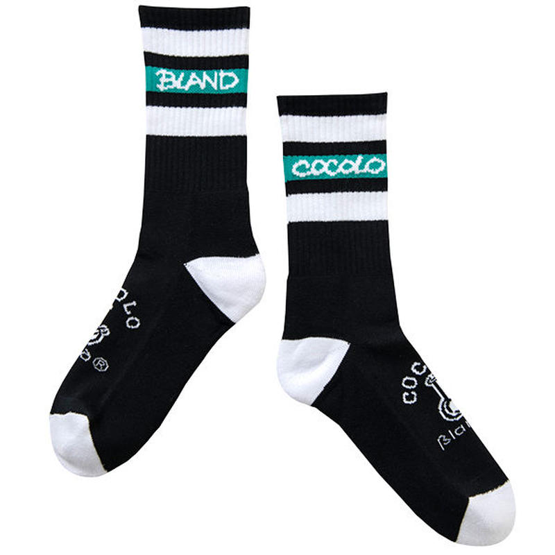 BONG LINE SOCKS (BLACK)