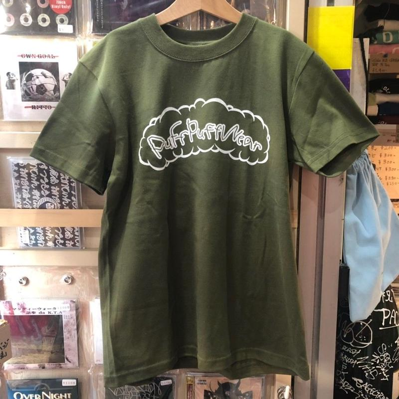 Puff Puff Kids TEE (DARK GREEN)