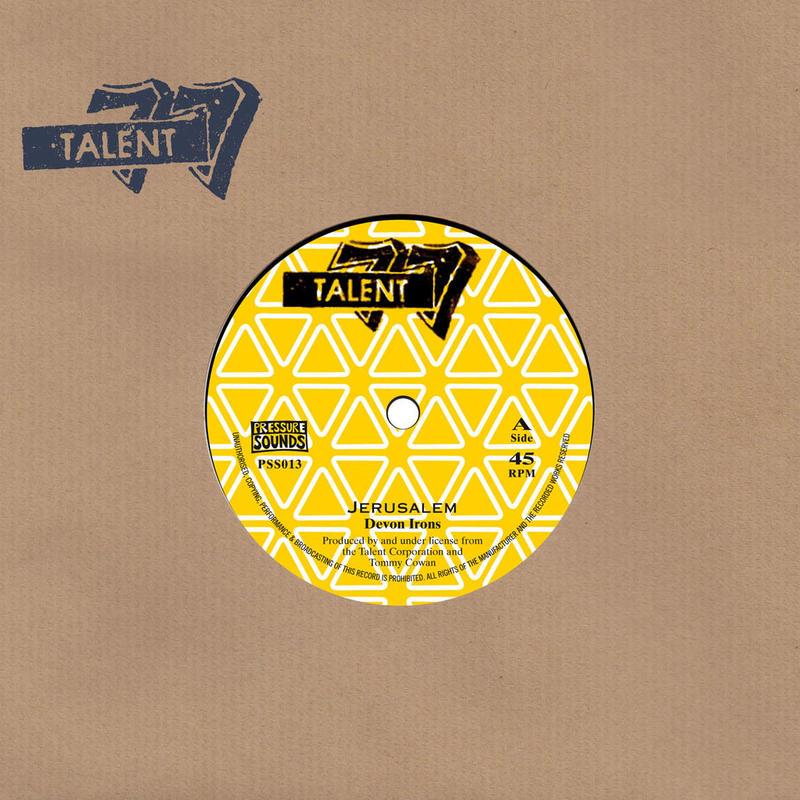 Devon Irons / The Talent Crew [7inch]