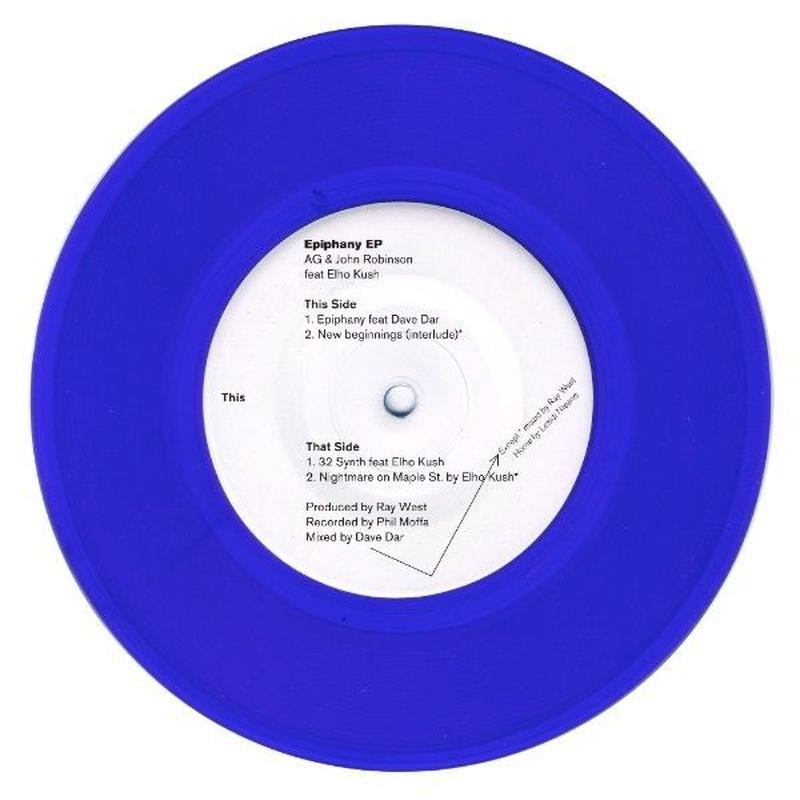 AG of DITC & John Robinson / Epiphany EP [7INCH]