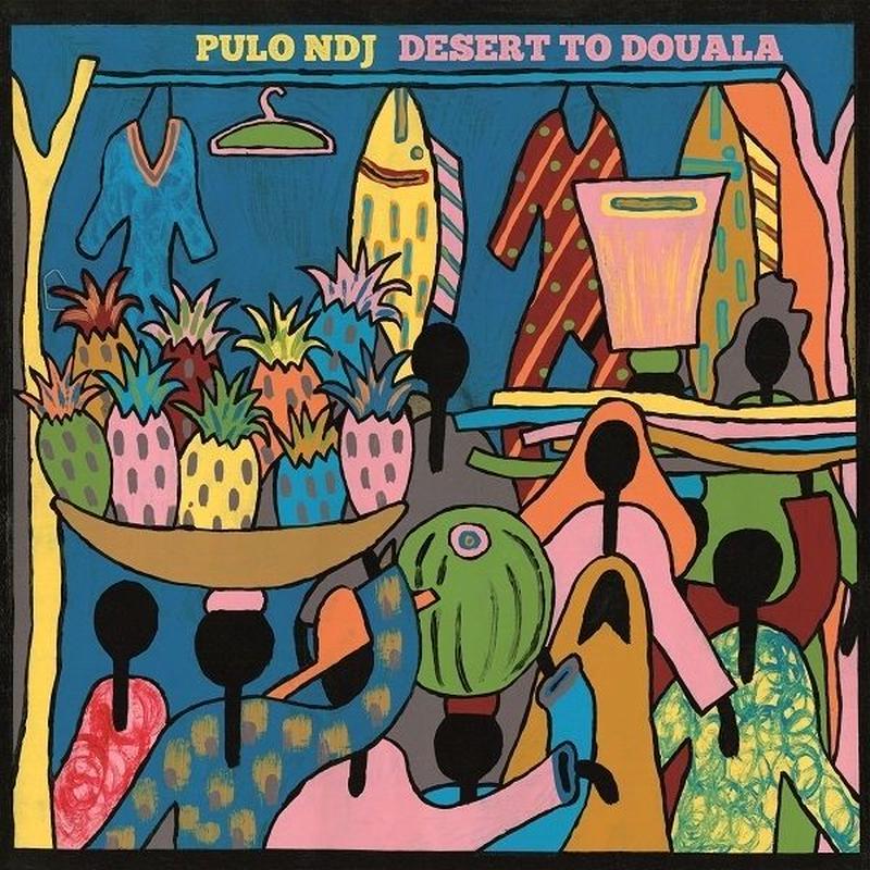 PULO NDJ / Desert To Douala [7inch×2]