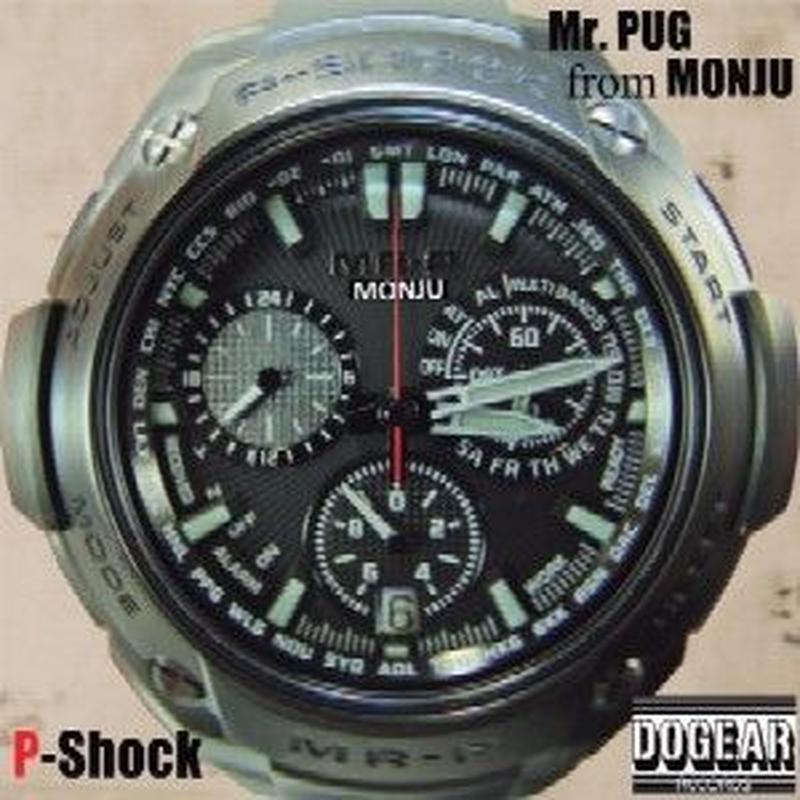 Mr PUG from MONJU / P-Shock LP [2LP]