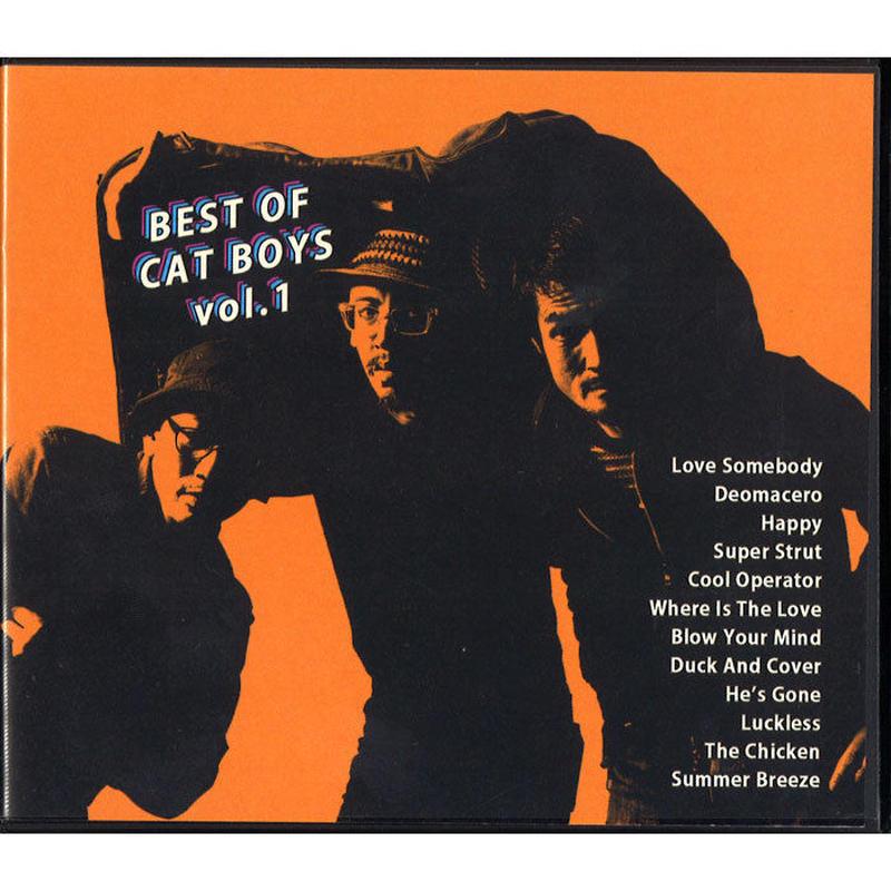 CAT BOYS  / BEST OF CAT BOYS VOL.1 [CD]