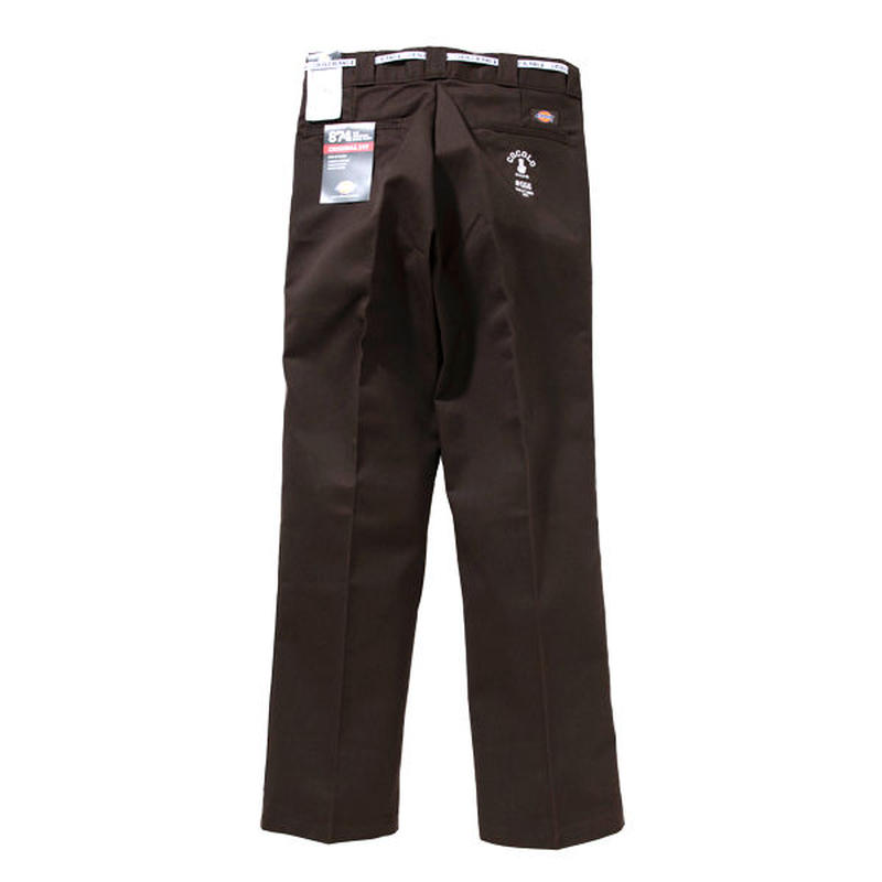 #556 WORK PANTS (DARK BROWN)