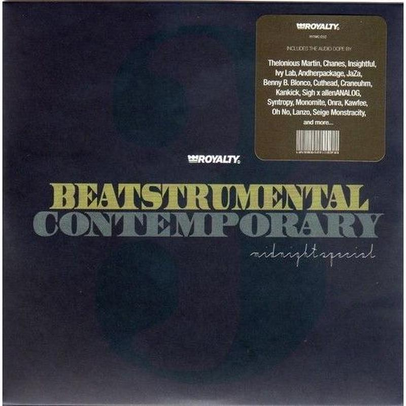 DJ KIYO / BEATSTRUMENTAL CONTEMPORARY 3 -MIDNIGHT SPECIAL[MIX CD]