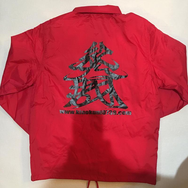 KINOKUNI COACH JACKET(Red)