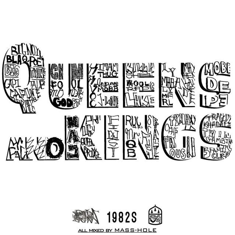 MASS-HOLE / queens and kings [MIX CD]
