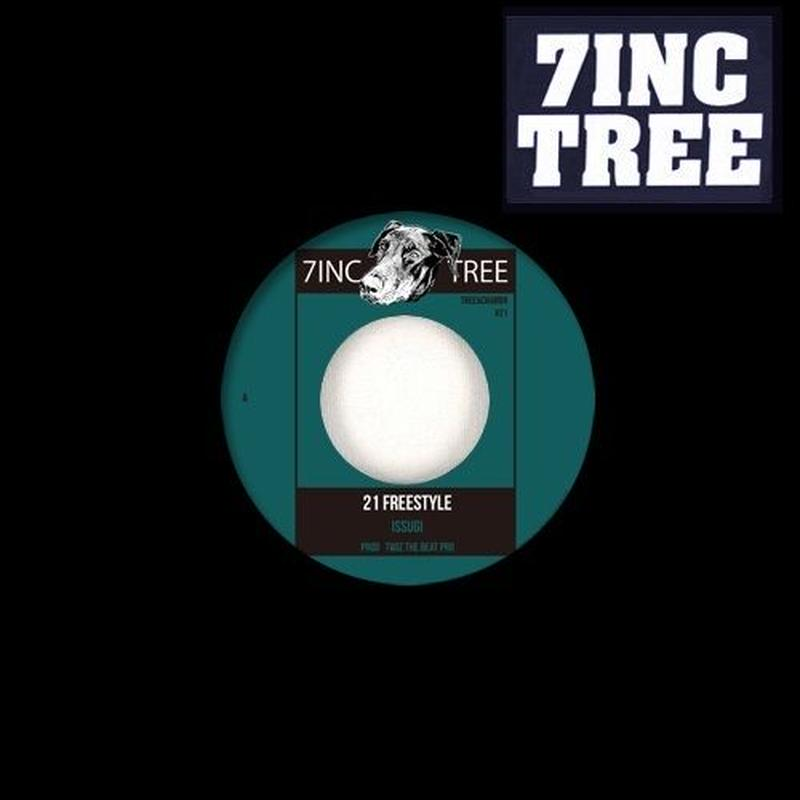 ISSUGI from MONJU / 21 FREESTYLE Prod. TWIZ THE BEAT PRO / MAJESTIC MR.PUG feat. EUJIN KAWI [7INCH]